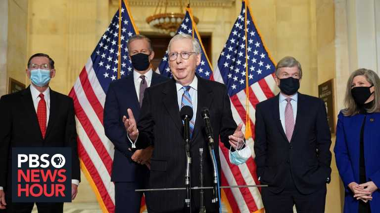Sen. Mitch McConnell on COVID relief, election reform and the filibuster rule