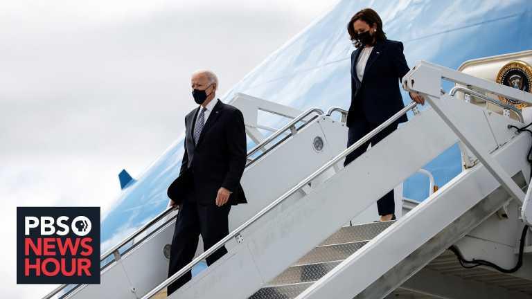 News Wrap: Biden, Harris meet with Asian American leaders in Atlanta following attacks