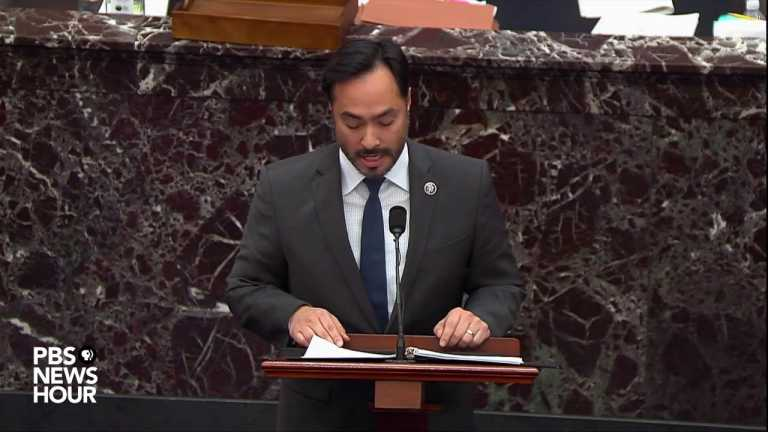 WATCH: Rep. Joaquin Castro criticizes Trump for not mobilizing National Guard on Jan. 6