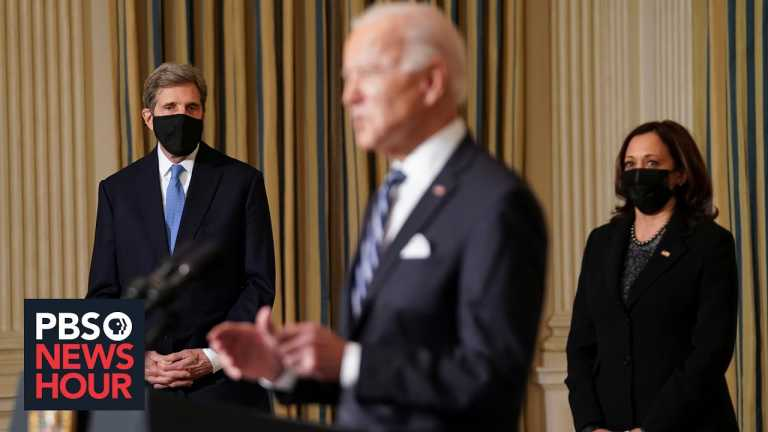 Biden confronts the climate crisis with a new spate of executive orders