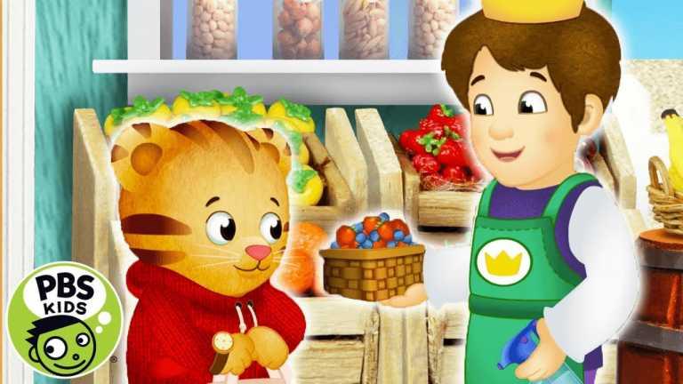 Daniel Tiger's Neighborhood | Daniel Goes to the Market! | PBS KIDS