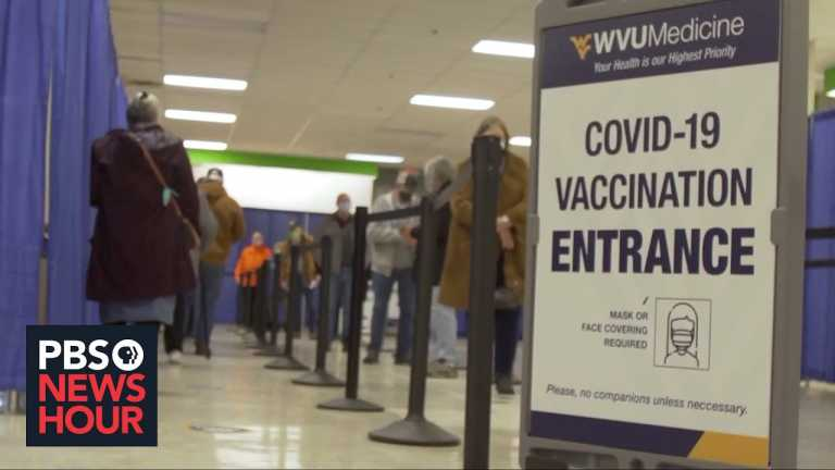 West Virginia emerges as a leader in the inoculation fight against COVID-19