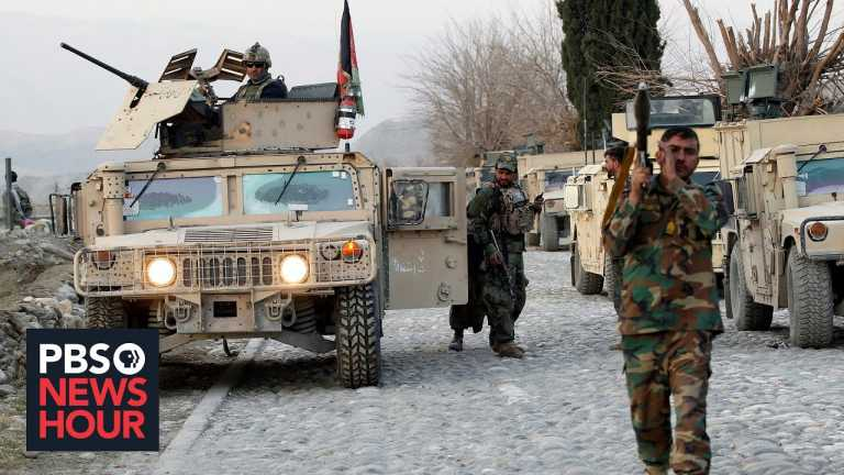 Afghan warlords and militias fill the security vacuum left by a weak central government