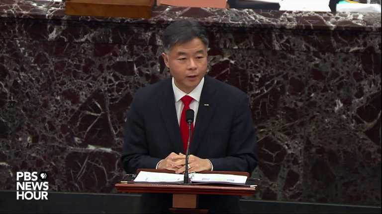 WATCH: Rep. Lieu on why the Senate should convict Trump