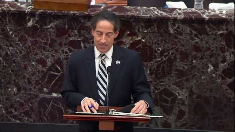 WATCH: Trump not protected by First Amendment for inciting insurrection, says Rep. Raskin