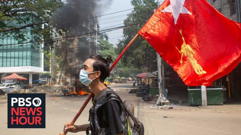 Ethnic group in Myanmar faces airstrikes, new attacks for protesting coup