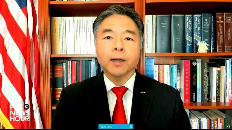WATCH: Stop using racist terminology to describe COVID-19, Rep. Ted Lieu says