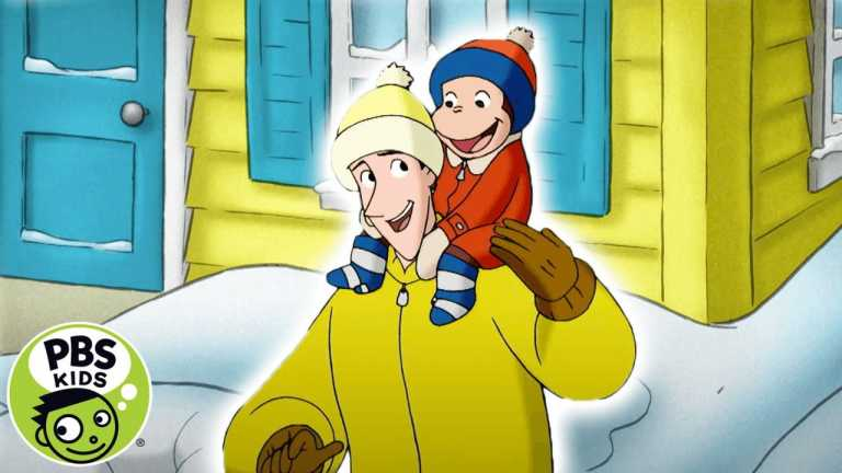 Curious George | ❄️  The Snowiest and Coldest Day | PBS KIDS