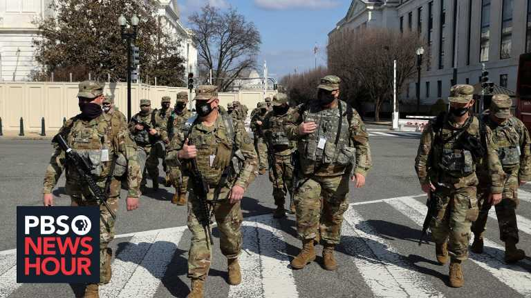 News Wrap: Capitol Police ask the National Guard to remain deployed for two more months