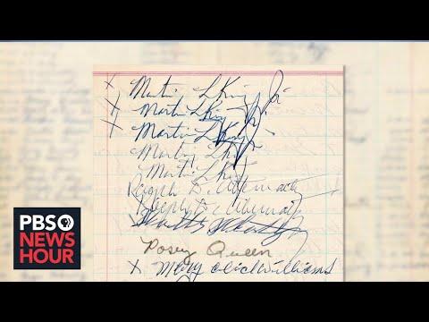 Rare Dr. Martin Luther King Jr. signatures found in Alabama jail logbook