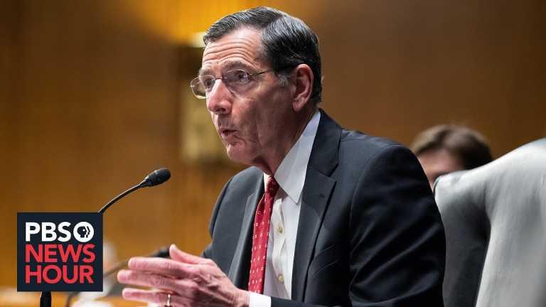 Sen. John Barrasso on the border crisis, COVID aid and vaccinations