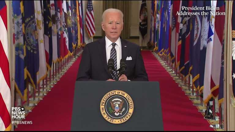 WATCH: Biden outlines plan to vaccinate all American adults in first national address