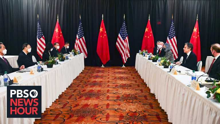 U.S., China exchange strong words, but both label talks constructive