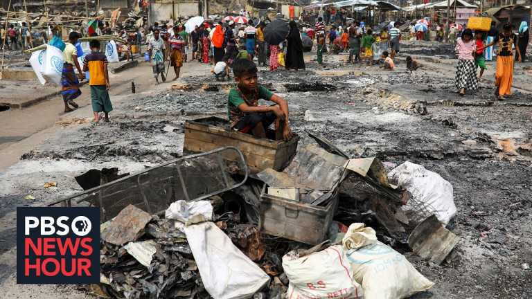 Rohingya refugees face another relocation amid devastating fires, COVID outbreaks in camps