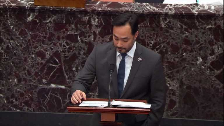 WATCH: Rep. Castro says Trump's 'stop the count' rhetoric led to insurrection