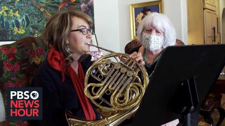 How Gabby Giffords is using music to rewire her brain after being shot