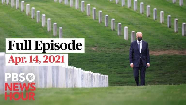 PBS NewsHour West live episode, Apr. 14, 2021