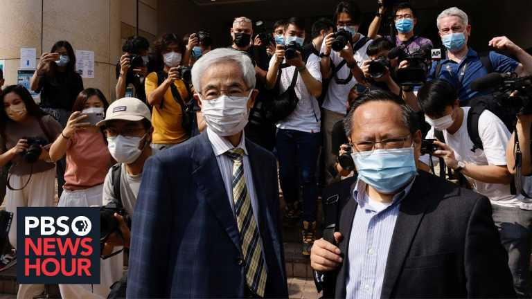 Hong Kong's pro-democracy leaders say it's an 'honor' to be jailed over fight for freedom