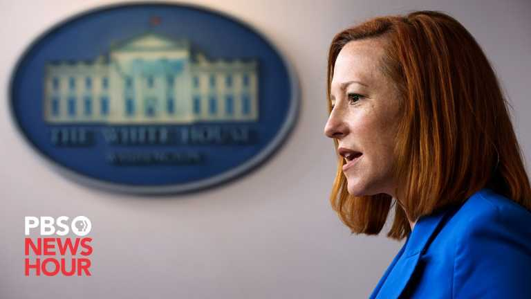 WATCH LIVE: White House press secretary Psaki expected to address March jobs gains in news briefing