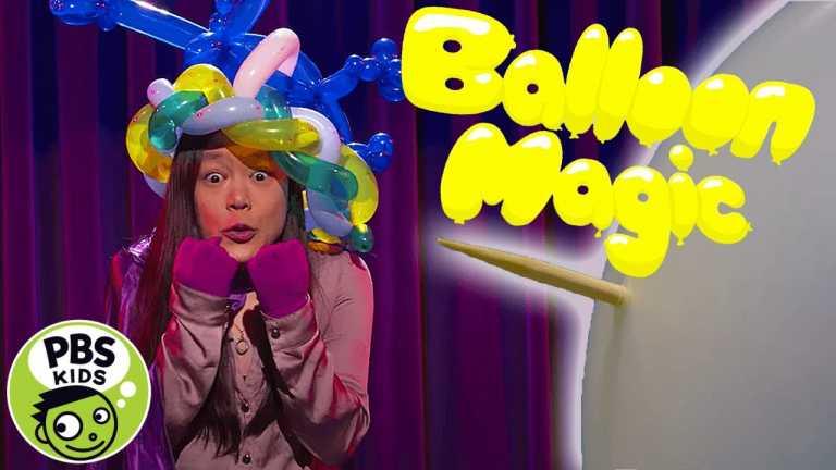 Mega Wow | Amazing Magic Tricks with Balloons! | PBS KIDS