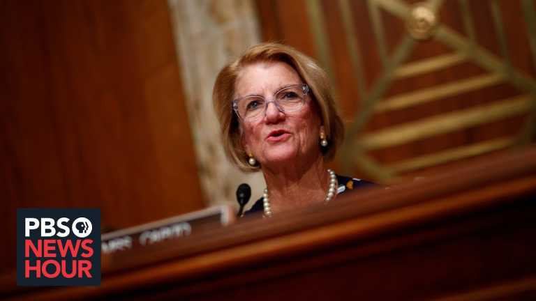 Sen. Capito: More bipartisanship needed on infrastructure, Biden 'left us in the dust'
