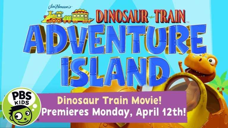 Dinosaur Train NEW MOVIE | Adventure Island Movie Coming April 12th! | PBS KIDS