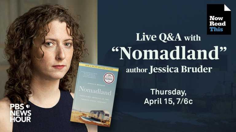 """LIVE Q&A: """"Nomadland"""" author Jessica Bruder takes your questions"""