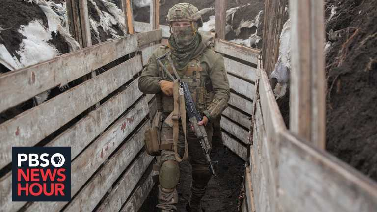 After months of simmering conflict, thousands of Russian troops amass on Ukraine's border