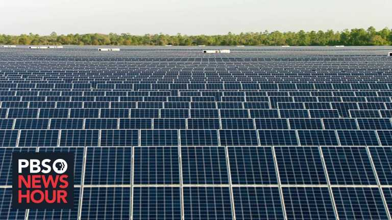 Small Florida community aims for energy independence by harnessing the power of the sun
