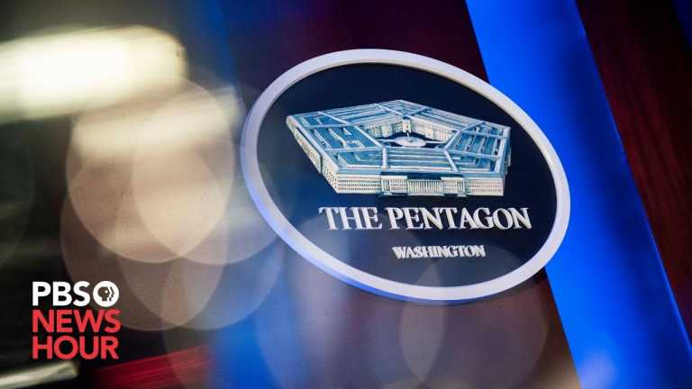 WATCH LIVE: Pentagon officials brief public on artificial intelligence