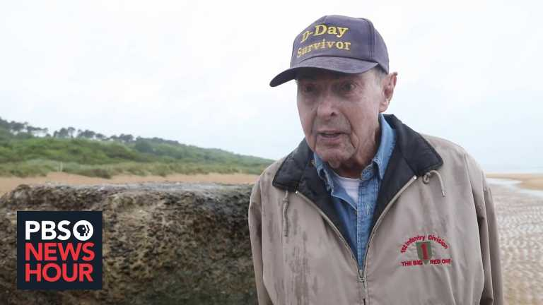 Remembering the heroic army medic who was in the first wave at Omaha Beach