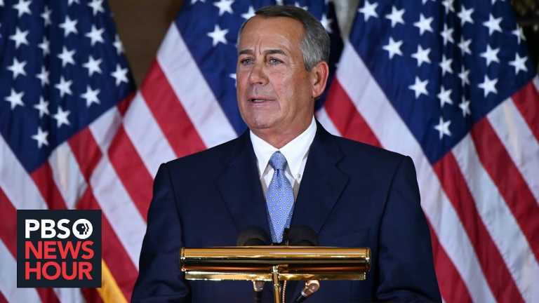 Boehner says Republicans should stick to principles, and Biden must aim for bipartisanship