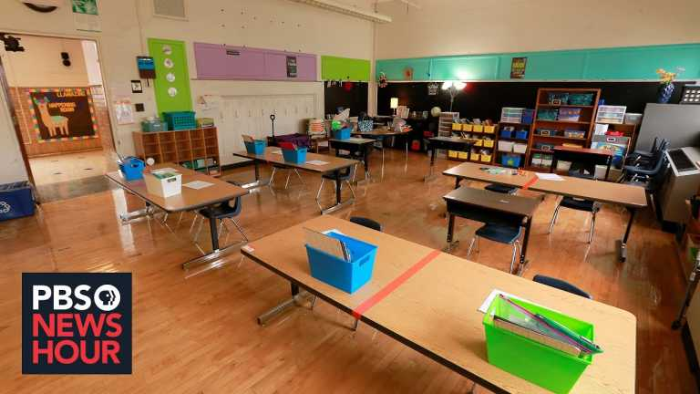 Balancing in-person and virtual learning during the pandemic takes toll on teachers