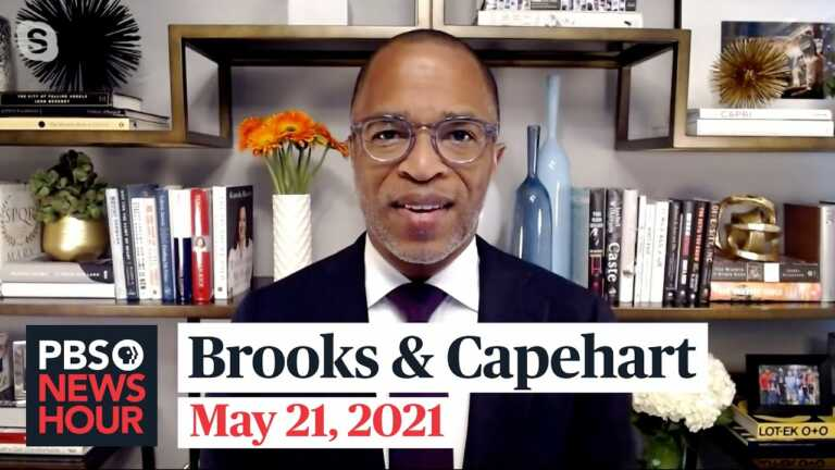 Brooks and Capehart on Israel-Hamas cease-fire, Jan. 6 commission