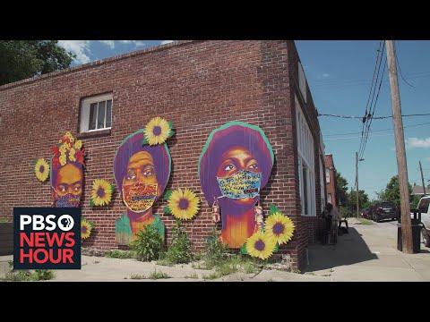 How art is retelling powerful stories of Tulsa massacre, capturing community's hopes
