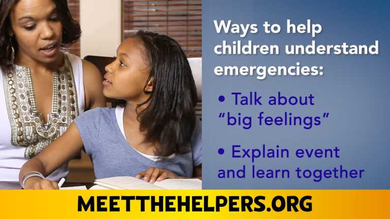 How Do You Talk to Children About Emergencies in Your Community?