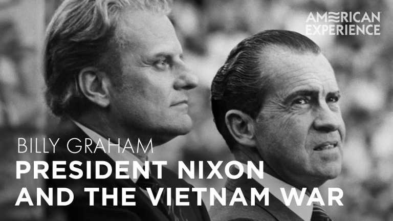 President Nixon and the Vietnam War   Billy Graham   American Experience   PBS