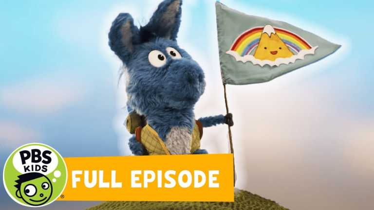 Donkey Hodie FULL EPISODE | Super Duper Sleepover / Mountain Climb Time | PBS KIDS