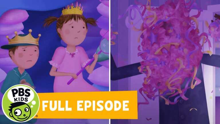 Pinkalicious & Peterrific FULL EPISODE | The Monster Trap /The Search for Peter's Whistle | PBS KIDS