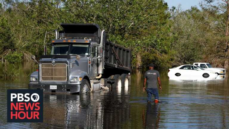 Natural disasters ruined parts of rural Louisiana, disrupted the region's vaccine drive