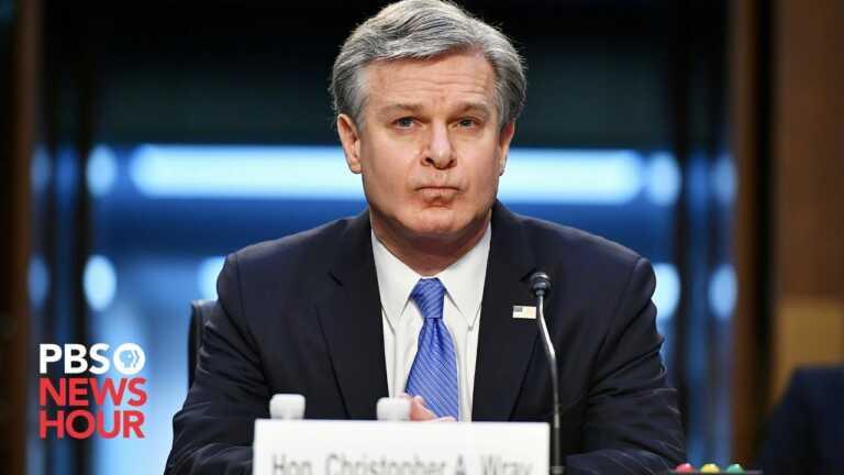 WATCH LIVE: Director Christopher Wray testifies on FBI budget
