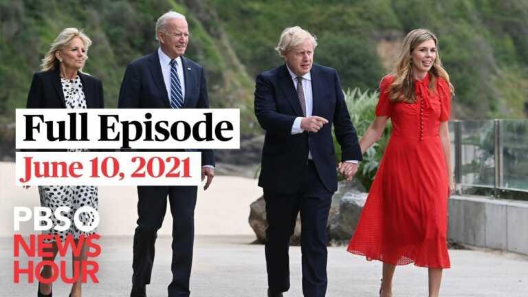 PBS NewsHour West live episode, June 10, 2021