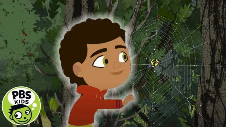 Through the Woods | Rider the Spider | PBS KIDS