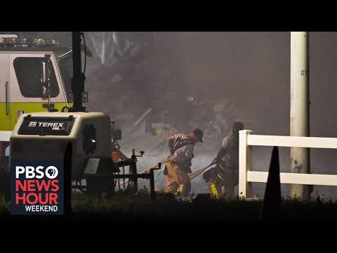 Florida building collapse: no new survivors found as search rescue ops continue
