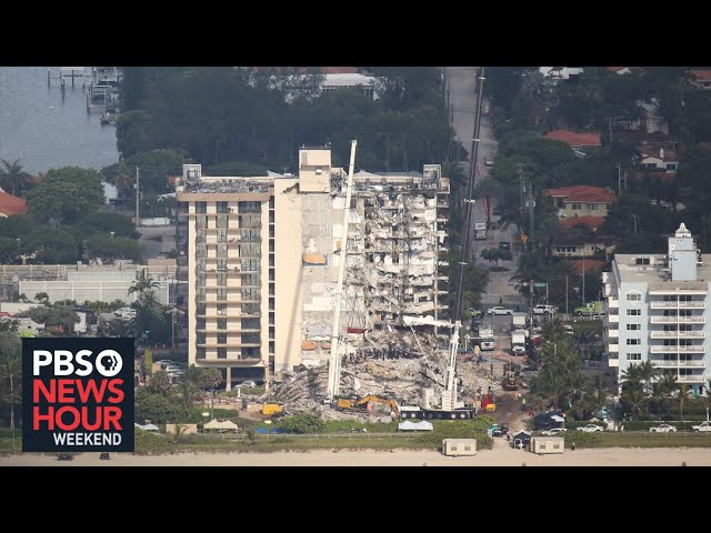 Florida building collapse: death toll rises, search and rescue continues