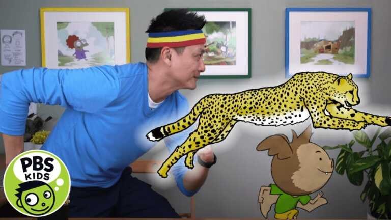 ELINOR WONDERS WHY | That's So Interesting: How Do Cheetahs Run So Fast?
