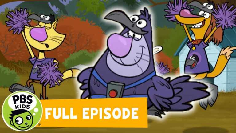 Nature Cat FULL EPISODE | Hal The Duck / The Crow-lympics | PBS KIDS
