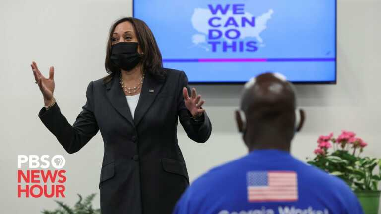 WATCH LIVE: Kamala Harris delivers remarks on COVID vaccination effort