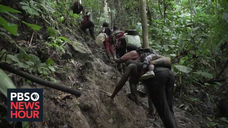 Pandemic conditions fuel rise in migrants braving the Darien Gap