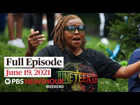PBS NewsHour Weekend Full Episode June 19, 2021